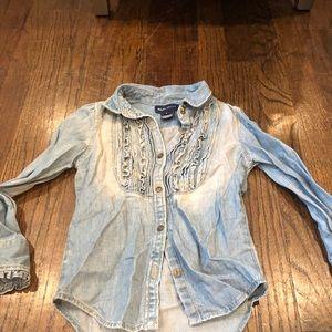 Ralph Lauren denim shirt size 5
